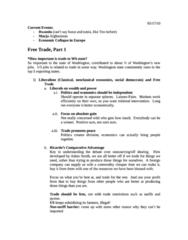 POL S 203 Lecture Notes - Comparative Advantage