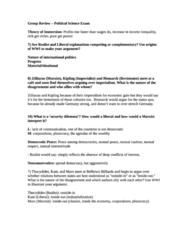 POL S 203 Study Guide - Midterm Guide: Joe Biden, Bourgeoisie, Stanley A. Mcchrystal