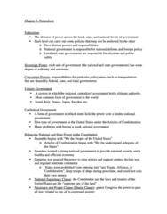 Chapter 3- Federalism (Bianco)