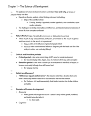 PSYC333 Notes for the whole course (covers everything you need to ace the Exam)