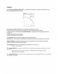 ECON 25100 Study Guide - Midterm Guide: Marginal Cost, Bounded Rationality, Economic Equilibrium
