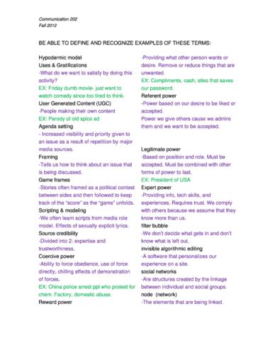 study-guide-for-final-exam-fall-2013