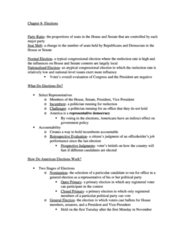 PLSC 111 Chapter Notes - Chapter 8: Job Performance, United States Presidential Nominating Convention, Political Campaign