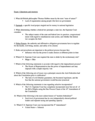 PLSC 111 Study Guide - Midterm Guide: Incorporation Of The Bill Of Rights, Bicameralism, Exclusionary Rule
