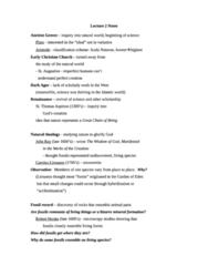 BIOL 514 Lecture Notes - Lecture 2: Copepod, Carl Linnaeus, Robert Hooke