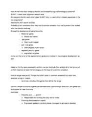 BIOL 514 Lecture Notes - Chordin, Arthropod, Xenopus