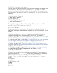 ITM 102 Study Guide - Final Guide: E-Commerce