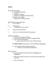 PSYC 2240 Lecture Notes - Behaviorism, Enculturation, Psychoanalysis