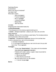 PSYC 2240 Study Guide - Final Guide: 16Pf Questionnaire, Longitudinal Study, Sentience