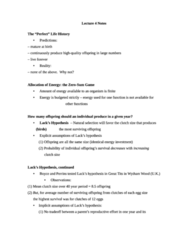 Lecture 4 Notes (must read for final)
