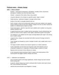 ENVIRSC 2EI3 Quiz: podcast notes - climate change.docx