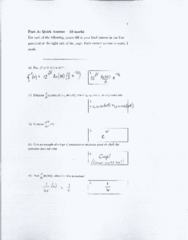 Test 3 Practice test w solutions