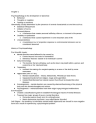 PSYC 3140 Study Guide - Midterm Guide: Emil Kraepelin, Bipolar Disorder, Psychology