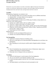 HIST296 Lecture Notes - Lecture 17: Marshall Plan