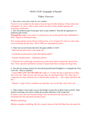 Geography 2240A/B Lecture Notes - Lecture 8: Pinus Ponderosa, Tinder, Cold Front