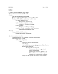 ISCI 2000 Lecture Notes - Lecture 10: Beta Decay, Half-Life, Beta Particle