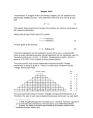 MGMT 1050 Lecture Notes - Lecture 4: Frequency Distribution