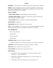 MGMT 1050 Study Guide - Quartile, Scatter Plot
