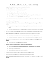 ORGS 2010 Chapter Notes - Chapter 6: Savings And Loan Association