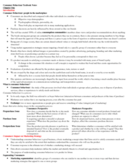 Management and Organizational Studies 3321F/G Chapter Notes - Chapter 1,3,5,7: Toothpaste, Psychographic, Retail
