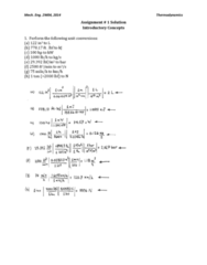 MECHENG 2W04 Lecture Notes - Lecture 1: Thermodynamics, Pressure Measurement, Free Body Diagram