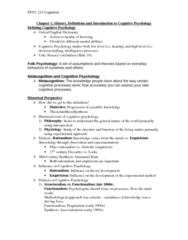 PSYC 213 Chapter All: PSYC 213 Cognition - Notes.docx