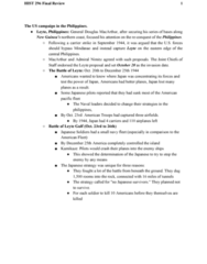 HIST296 Study Guide - Final Guide: Iwo Jima, Operation Bagration