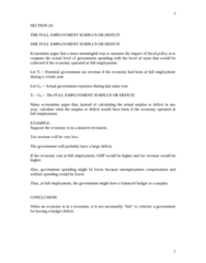 ECON 0110 Lecture Notes - Lecture 20: Unemployment Benefits, Business Cycle