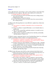 PSYC 2650 Chapter Notes - Chapter 1-4: Transcendentalism, Saccade, Behaviorism