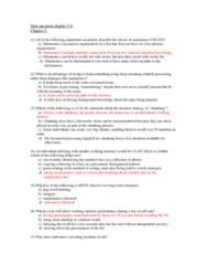 PSYC 2650 Chapter Notes - Chapter 5-8: Perseveration, Amygdala