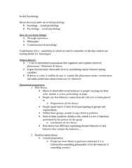 SOCPSY 1Z03 Lecture Notes - Lecture 1: Human Nature, Symbolic Interactionism, Role Theory