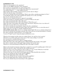 PHYS111L Final: PHYSICS LAB EXAM STUDY QUESTIONS.docx