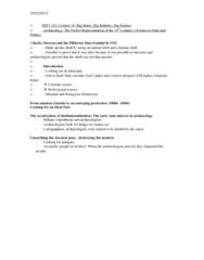 HIST 215 Lecture Notes - Lecture 14: Johann Jakob Bachofen, Carl Linnaeus, Johann Friedrich Blumenbach