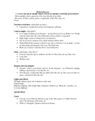 FS 103 : midterm review
