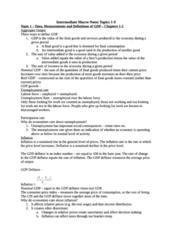 Intermediate Macroeconomics Notes (got 94% in the course)