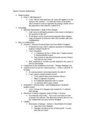 Banking and finance law notes (full and concise notes)