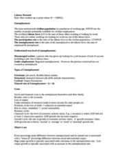 3 - Labour Market, Unemployment (scored 92%)