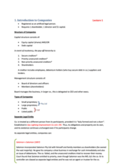 BLAW20001 - study guide chapter 1 (all the notes you need)