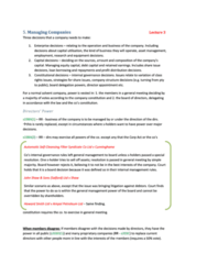BLAW20001 - study guide chapter 5 (review notes)