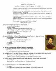 Lecture 12 Notes (review notes)