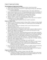 Psychology 2990A/B Chapter Notes - Chapter 8: Engineering Psychology, National Transportation Safety Board, Pilot Error