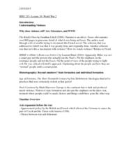 HIST 215 Lecture 19: World War II 1