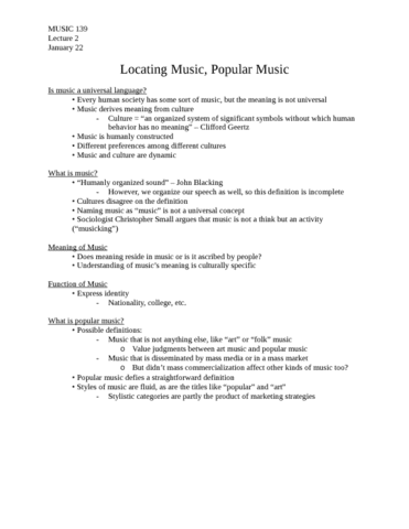 music-139-lecture-2-music-139-lecture-2-locating-music-popular-music-january-22-2015-docx