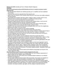 REI 3350 Lecture Notes - Lecture 15: Jihadism, Premarital Sex