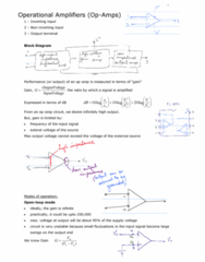 BIOE 3270 Lecture Notes - Lecture 2: Operational Amplifier, High-Pass Filter, Rc Circuit