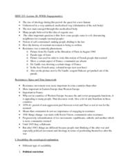 HIST 215 Lecture 17: War Engagement(s)