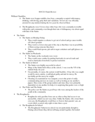 SOC211H5 Study Guide - Final Guide: Ritualism In The Church Of England, Argot, Anomie