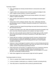 PSYC 1001 Chapter Notes - Chapter 1: Karl Lashley, Experimental Psychology, James Olds