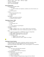 ANSC3180 Final: Condensed Wildlife Nutr Exam Notes.docx
