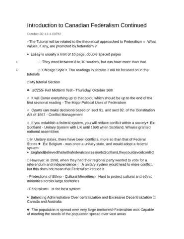 High School Graduation Essay  Essay With Thesis Statement Example also Thesis For Compare Contrast Essay Poly Lecture Notes  Fall  Lecture   Canadian Federalism Topics For English Essays